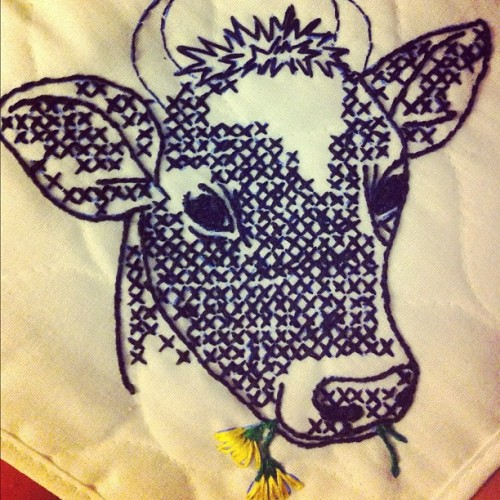 #embroidery  (Taken with Instagram)