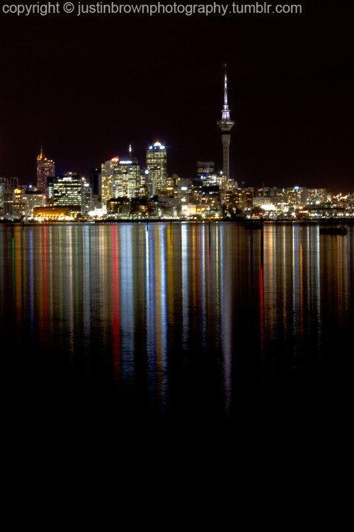 justinbrownphotography submitted:  Auckland City - The Skytower  Beautiful!
