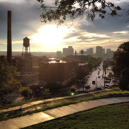 daniel-white:  Love this city. #rva #richmond (Taken with Instagram at Libby Hill Park)