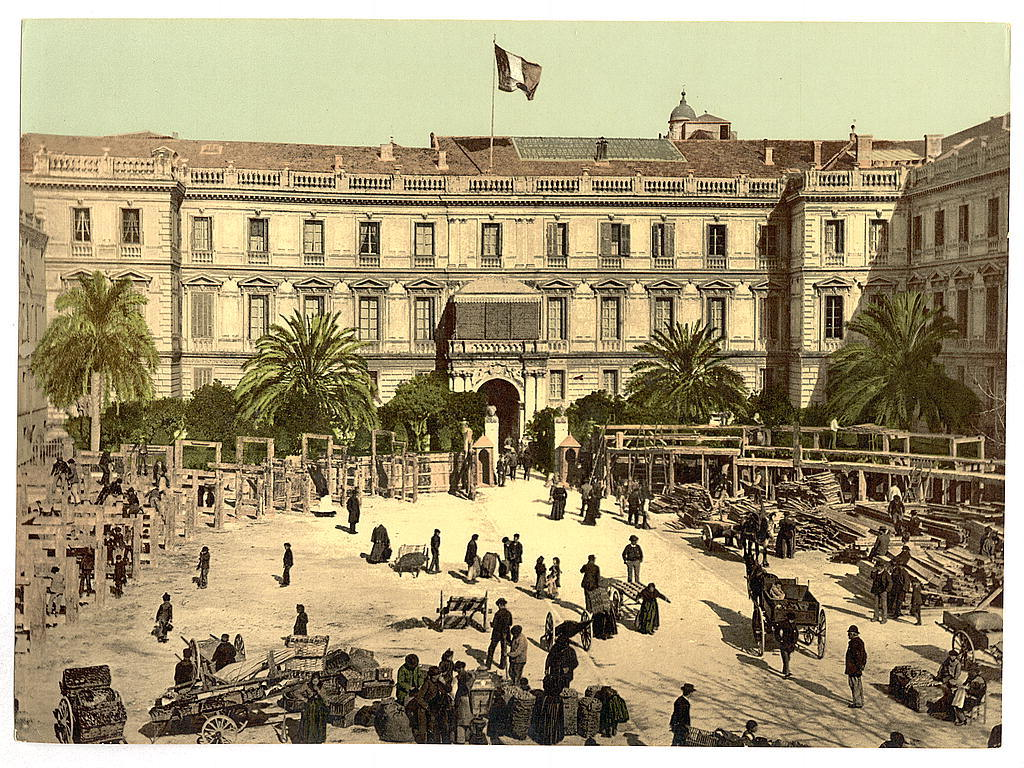 Palais de la Préfecture, Nice, France, c. 1890 (photomechanical print)