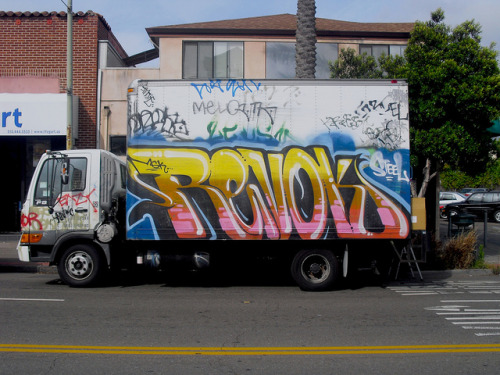 graveyard-shift-clothing:  Revok on Flickr. Revok Msk Oakland California