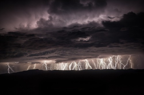 Lightning from Bryce by Bill Church