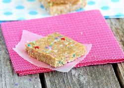 Cake Batter Energy Bars     (click image for recipe)