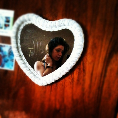 Love this mirror 💗 (Taken with Instagram)