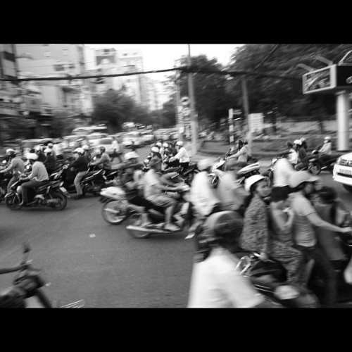 Traffic.  (Taken with Instagram)
