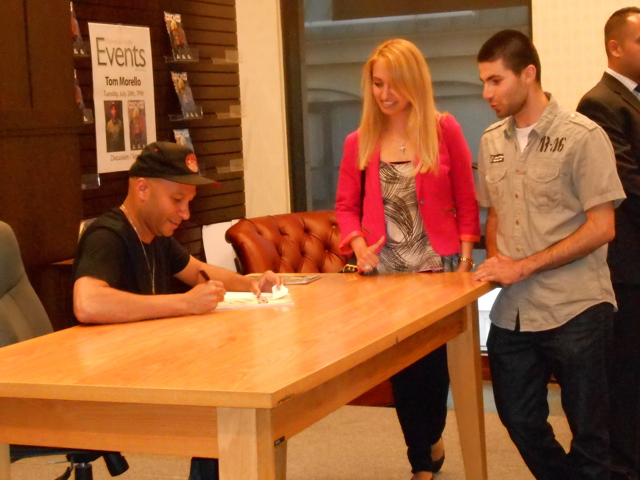 Tom Morello Signs Orchid at The Grove… July 24th, 2012