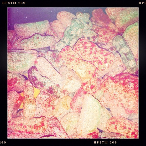 Sour patch kids && watermelons covered in Li Hing Mui Powder :D #hawaiiancandy #lihungmui #candies #sourpatch #yummy #treats (Taken with Instagram)