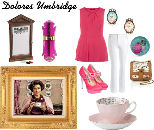 Dolores Umbridge by jennifer-gibson