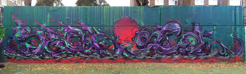 EC parallel World by 80's Conspiracy on Flickr.Now THIS is graffiti.