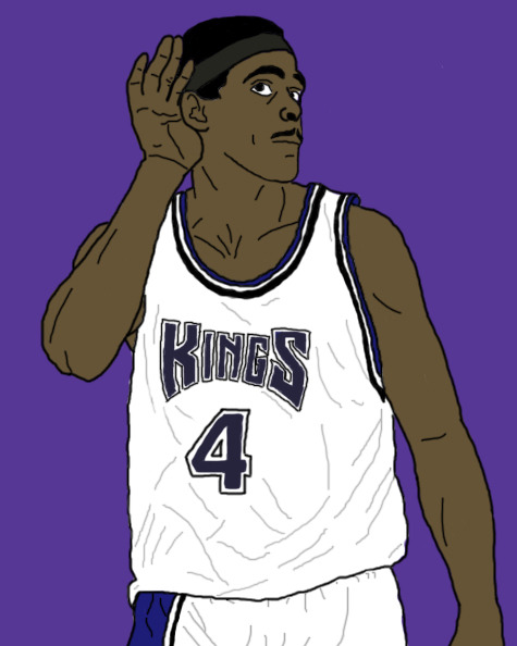 Chris Webber sketched in photoshop