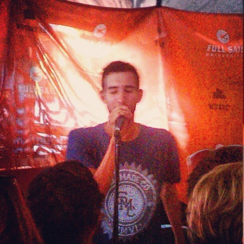 Transit's #acoustic set. #warpedtour2012 (Taken with Instagram)