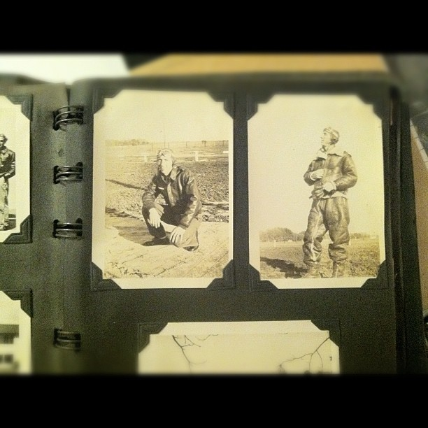 Just found these photos of my grandpa in my basement, I never knew him but he seems pretty legit. #WWII