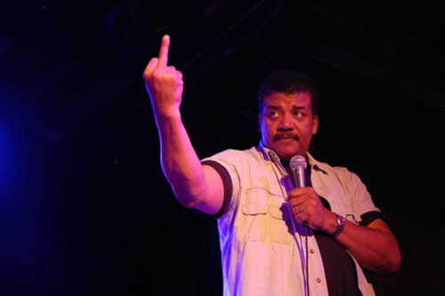 NDT is that dude. iheartchaos:  Fuck the science haters.