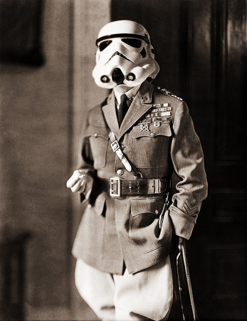 A Storm trooper before his time…