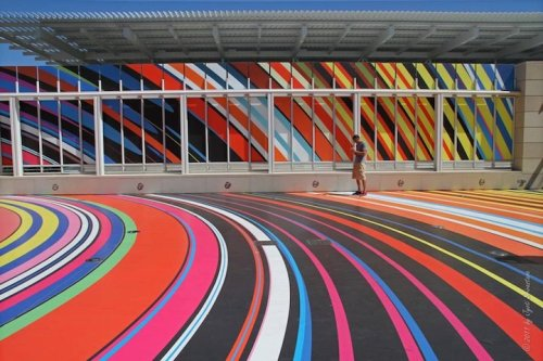 stua:  Restless Rainbow by Pae White In Chicago, IL