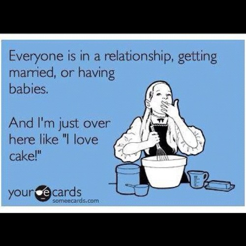 #lol #ecards #pregnant #marriage #babies #eating #cake (Taken with Instagram)