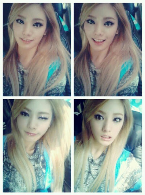 After School - Nana Google+ update 셀카 4연발 뽕뽕뽕뽕~ '-' 4 selca in a row BbongBbongBbongBbong~ '-'