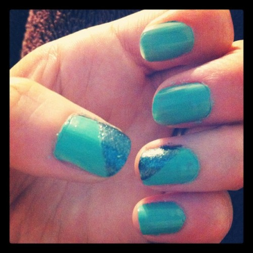#mermaidstears #opi #nails (Taken with Instagram)