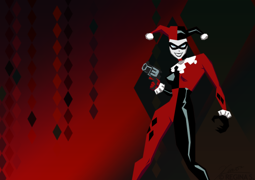 Gotham City Sirens: Harley Quinn Also up in Behance.