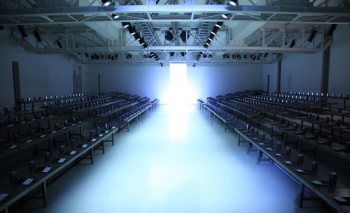 Milan and Paris fashion week venues S/S 2013: menswear collections