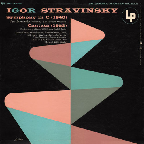 Igor Stravinsky's Symphony in C and Cantata