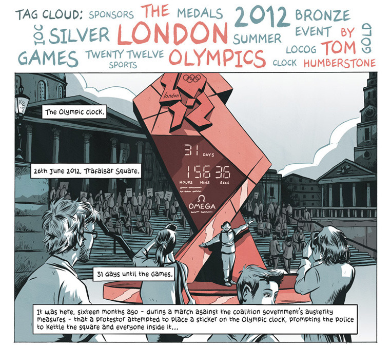 My full Olympics comic is now online at Cartoon Movement!