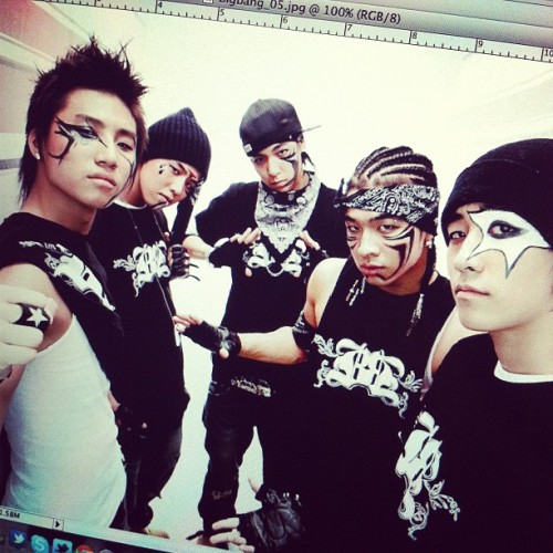 bigbangph:  Remember those days? #bigbang #2006 (Taken with Instagram)