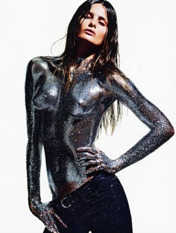 Isabeli Fontana by Mario Sorrenti for Vogue Paris April 2012.