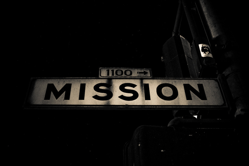 MISSION // I miss SF so much.