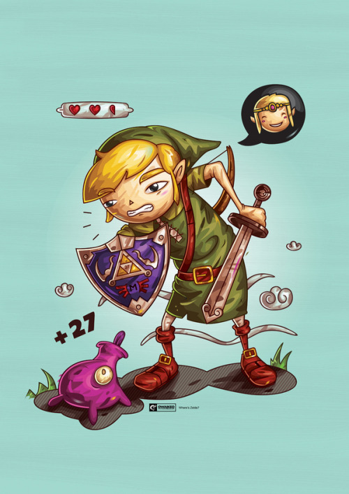 Where's Zelda? - by Ahmed Al-Refaie DeviantART || Website || Twitter
