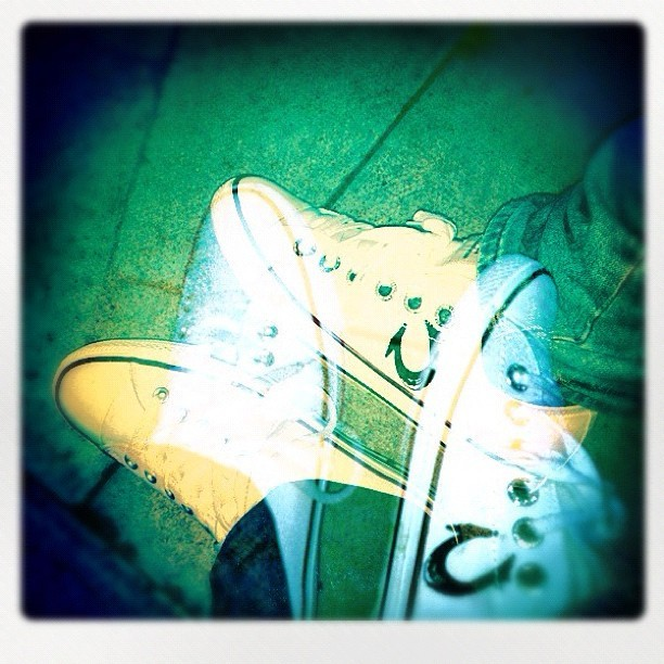#Converse Vs #TrueReligions  (Taken with Instagram)