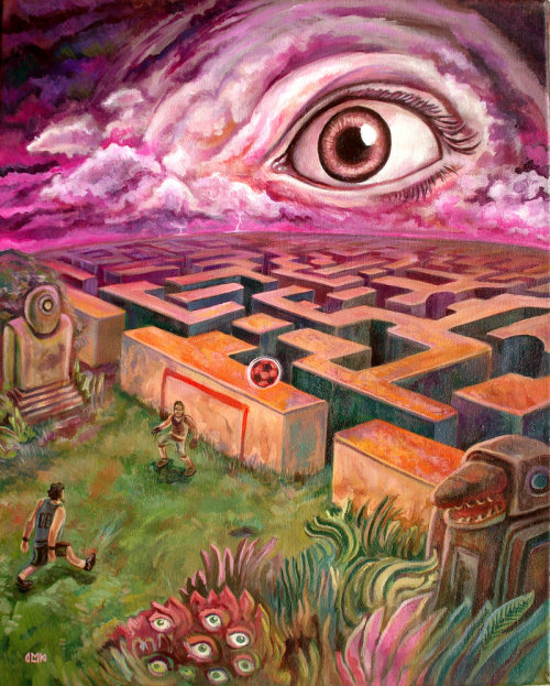 htdcnovel:  The Maze by ~Themaze