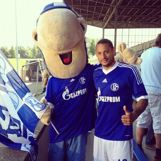 "fuckyeahschalke:  From Jermaine's twitter: ""My friend Erwin"""