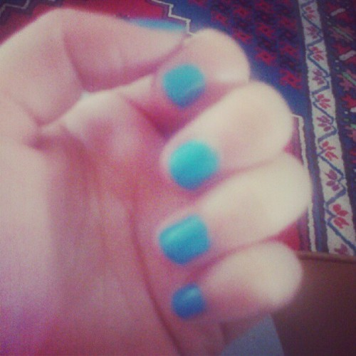 My nails today :)  (Taken with Instagram)