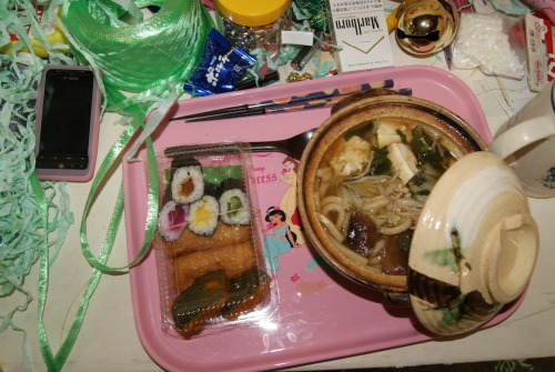 …another host mother dinner from my time in Mino,Japan!
