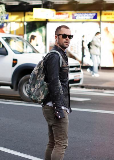 BEN APPROVED: Camo in the City