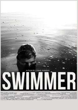 teaim:  Lynne Ramsay - Swimmer, 2012 Lynne Ramsay's short film was shown on BBC2 last night. Produced by Warp Films and commissioned as part of the Olympic festival, it follows a lone swimmer on a journey through open water accompanied by an ambient soundtrack that includes samples of dialogue from films such as If…, Lord of the Flies, The Loneliness of the Long Distance Runner, etc. The visuals are beautifully shot in black and white, and the whole film is mesmerising. You can watch it now for a limited time on BBC iPlayer
