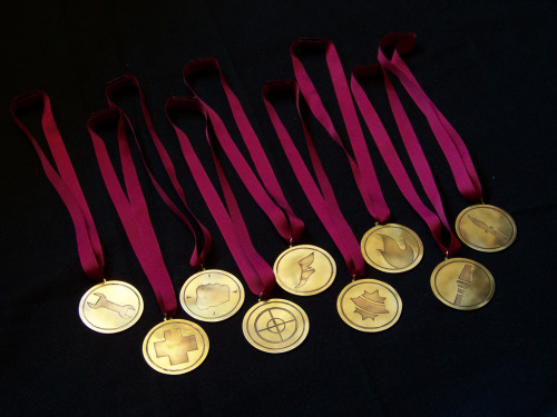 Medals for Insomnia 46 TF2 Highlander  Wouldn't mind having one of these though…