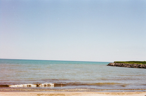 +The Great Lakes  Via Nikon FE w/ fuji 400
