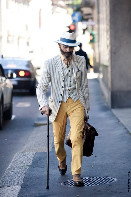#DressWell The dapperness overfloweth  theasmontichronicles:  Oscar Giannino, journalist, economist, polemist, ghostwriter, flamboyant gentleman.