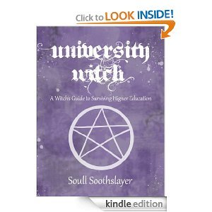 spiritscraft:  Free Today Kindle Book on surviving college and university as a witch. This one has been a long time coming, glad to see someone finally wrote it!
