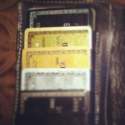 All my AMEX. #amex #centurion #platinum #gold by dgdsn
