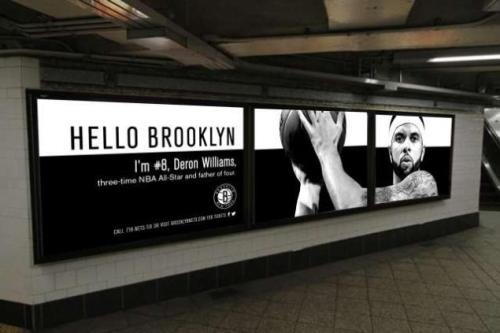 netsbasketball:  Seen these around NYC yet?