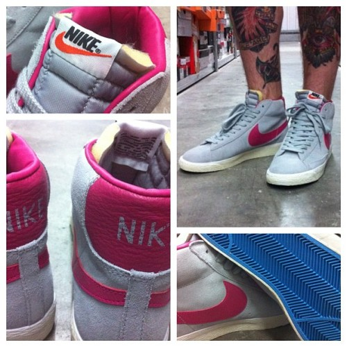 Brand new Nike Blazer Vintage dropping online tonight and in store this week! #nike #blazer #vintage #sneakers #footasylum (Taken with Instagram)