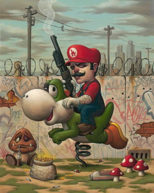Bob Dob illustration - Mario !