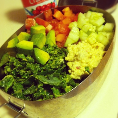 Nutritious lunch 😍😍😍 #kale #veganlife  (Taken with Instagram)