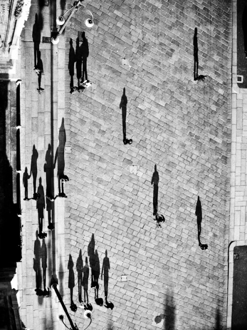 m3zzaluna:  golconda, from the roof of duomo, milan, december 2009 © masiar pasquali - all rights reserved