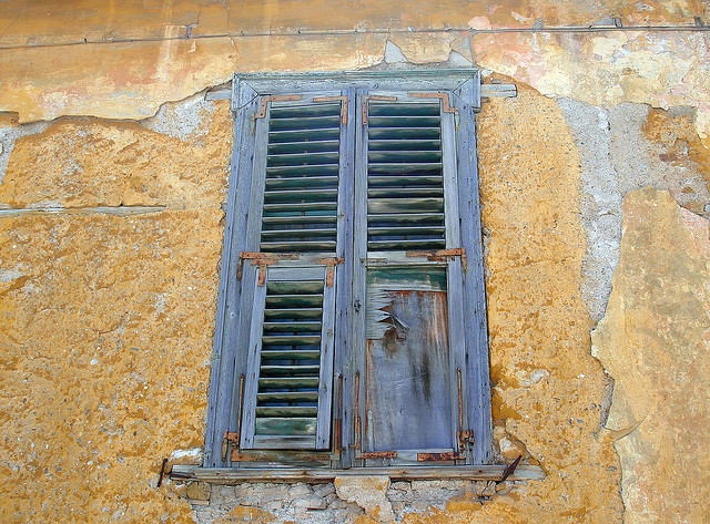 Old window in Plaka by Ava Babili on Flickr.