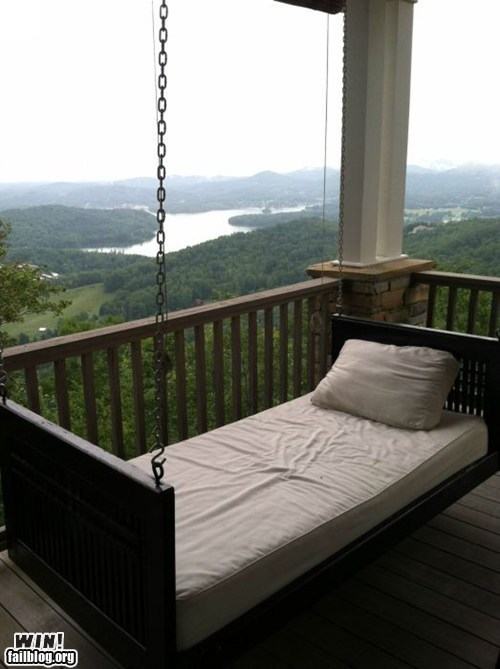 Epic Win-Bed Swing