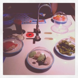 Eating healthy out… Yo sushi<3<3<3 (Taken with Instagram)
